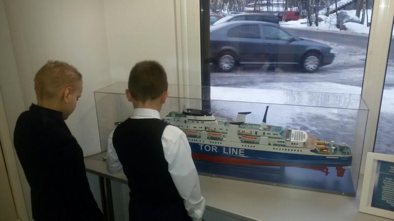 """Выставка моделей судов, изготовленных членами клуба """"Адмирал"""""""