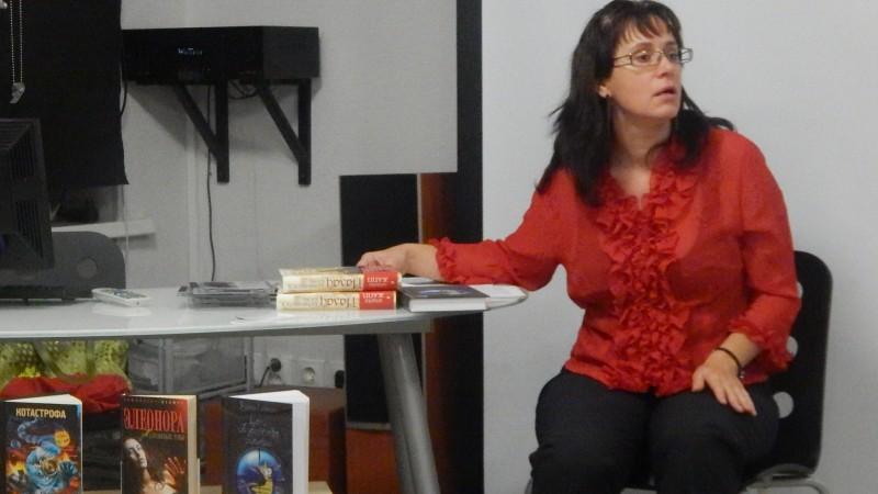 Встреча с поэтом, писателем и переводчиком Златой Линник