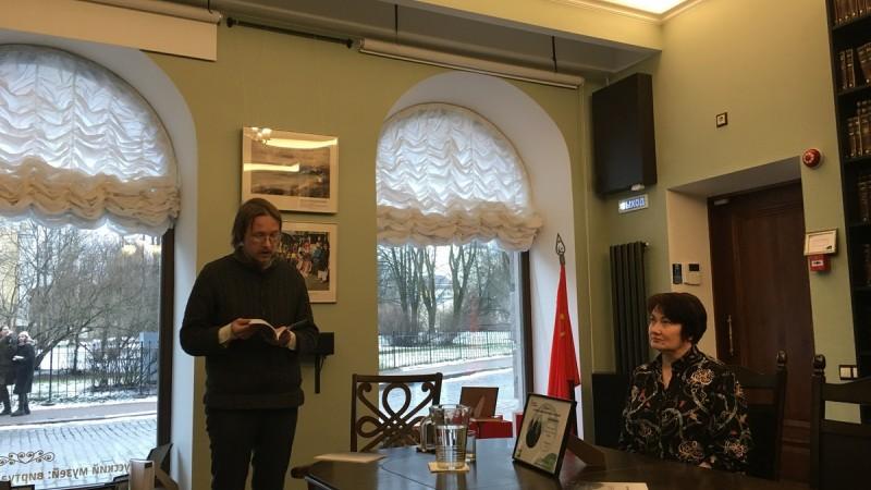 Встреча с Ильей Лапиным, петербургским литератором и историком, в Библиотеке на Пионерской - 15 февраля