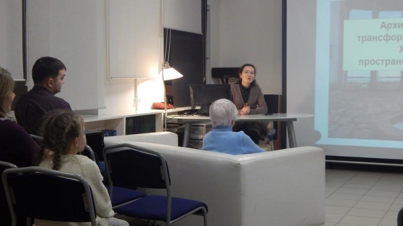 В библиотеке на Рубежной, 18 состоялась лекция Оксаны Юрковой
