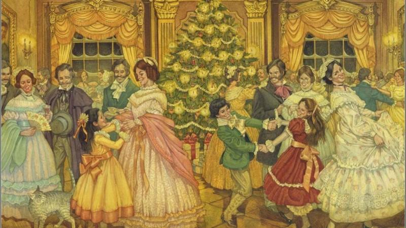"""Лекция """"Рождественские балы в Выборге"""""""